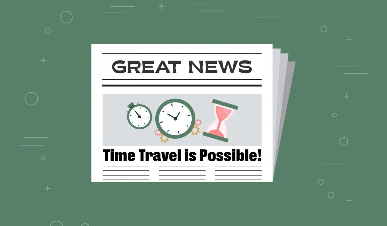 Weak Ties: Time Travel