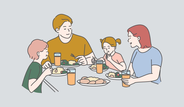 Kebersamaan Di Meja Makan
